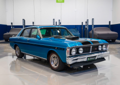 Muscle car auction